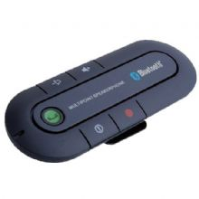 NEW SLIM MAGNETIC WIRELESS BLUETOOTH V 3.0 HANDSFREE CAR KIT SPEAKER PHONE VISOR CLIP